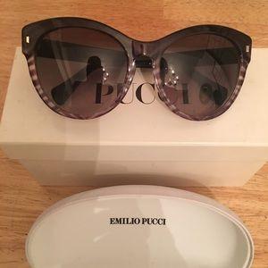 Pucci Baby Zebra in Faded Grey Sunglasses